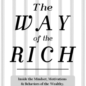 THE WAY OF THE RICH book cover