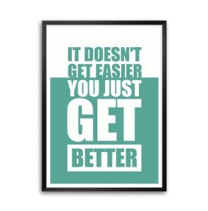 framed you get better
